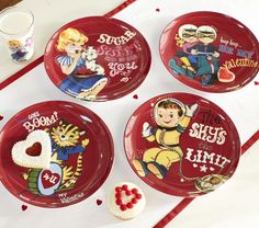 Yes I just pinned an article about simplifying, yes I want these Valentines children plates, yes I am a neurotic hypocrite.