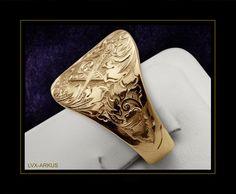 Anel personalizado de luxo - Maçonaria AM-002