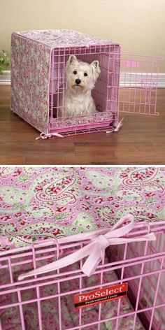 crate cover- you may have to make this when I finally get a puppy