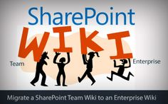Simple way to Plan & Migrate a SharePoint Team Wiki to an Enterprise Wiki. #Sharepoint #migration