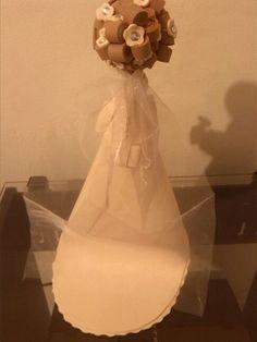 Parte de atras de la fofucha novia