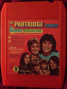 The Partridge Family Sound Magazine 1971 8 Track Orange Case Rare in Music, Other Formats | eBay