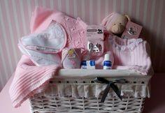 Großer Geschenkkorb für Neugeborene