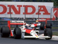 At the hands of both Prost and Senna the McLaren MP4/4 was unstoppable in 1988