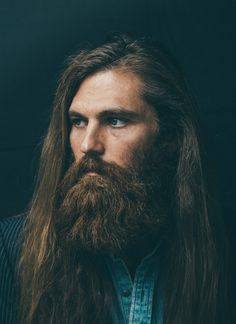 Dream would be to find a model with hair this long and a beard.