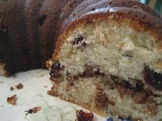 Marshall Field's sour cream cranberry coffee cake- MADE IT! One of my ...