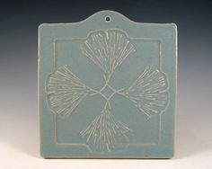 Ginko tile in the arts and crafts style #artsandcrafts #greenvillscrealestate #greenvilleschomerestoration