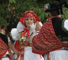 Folk Costume, Costumes, Folk Clothing, Crown, Folklore, Embroidery, Fashion, Czech Republic, Moda