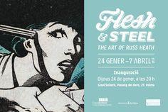 Exhibition: Flesh & Steel The art of Russ Heath 24 enero- 17 abril 2013