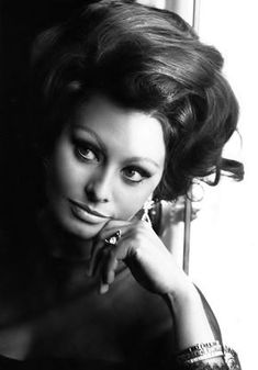 Sophia Loren, mid-1960s.