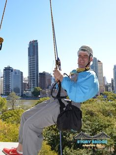 Story Bridge Adventure Climb - Brisbane Australia #Brisbane #Australia #storybridge #storybridgeclimb #bridgeclimb #adventure #rappelling #absailing