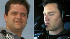 Peter Siebold, left, was piloting SpaceShipTwo, but his co-pilot, Michael Alsbury, died.