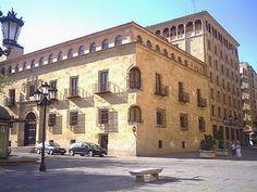 Palacio Garcigrande, Salamanca España.