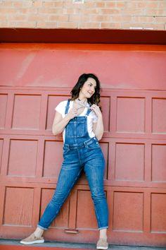 2d8c6918a64d Caroline Hulse Blog - Three Easy Ways to Style Overalls - CarolineHulse.Com  Denim Overalls
