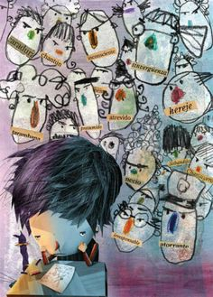 Pablo Bernasconi Children's Picture Books, Book Illustration, Illustrators, Collage, Character, Ps, Prints, Frases, Swallow