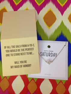 Asking our wedding party – Courtney Callahan Paper