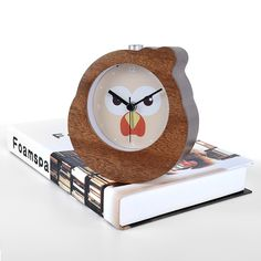 Aliexpress.com : Buy FiBiSonic Chinese Zodiac Rooster Wooden Snooze Backlight Alarm Clock Wood Desktop Needle Table Clocks from Reliable backlight alarm clock suppliers on FiBiSonic Official Store