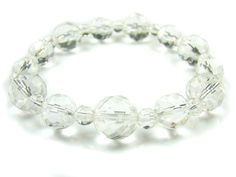 BA7638 Clear Quartz 3A Quality Healing Natural Crystal Stretch Bracelet - See more at: http://waggashop.com/wagga-shop-ba7638-clear-quartz-3a-quality-healing-natural-crystal-stretch-bracelet