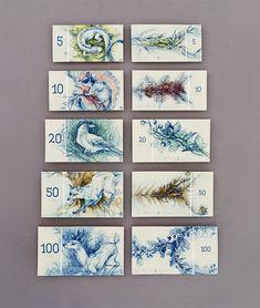 projeto para notas de euro húngaras de barbara bernát