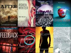 October YA Science Fiction, Dystopian and Post-Apocalyptic Titles