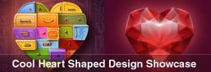 Cool Heart Shaped Design Showcase