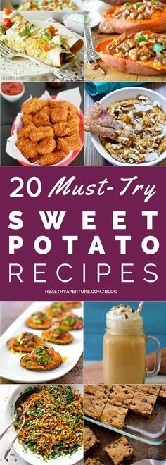 Love sweet potatoes? Here are must-try sweet potato recipes that are quick, healthy and easy!