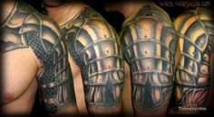 Armor Tattoo for Corey. @talia