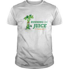 Running on Juice with illustration Men's T Shirt