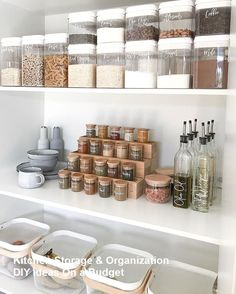 20 of the coolest Kmart hacks EVER! DIY tiered spice rack using bamboo drawer liners. Cool Kmart hack for the Pantry organisation, pantry inspiration, pantry ideas, Kmart pantry, Kmart hack pantry Pantry Organisation, Kitchen Pantry Design, Kitchen Organization Pantry, Diy Kitchen Storage, Diy Storage, Pantry Ideas, Kitchen Ideas, Organized Pantry, Tidy Kitchen
