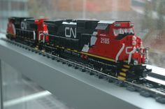 Lego CN Freight Engine C40-8W (Dash 8) Main