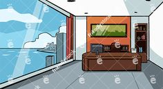 Expensive Office With Great Skyscraper City View Vector Background:  #1sttier #animation #backdrop #background #block #building #business #cartoon #city #cityview #clipart #corporate #corporation #doodle #expensive #firsttier #graphic #illustration #image #job #lawfirm #metropolis #modern #office #opencurtains #picture #property #friendlystock #scene #setting #skyscraperview #station #stock #vector #video #whiteboard #window #work #workspace