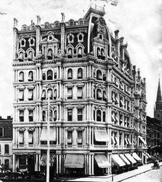 In 1891 at The Gilsey House, 1200 Broadway at St., no a condominium. Clubhouses, Condominium, Pisa, Broadway, Blues, Louvre, Tower, Happiness, Nyc