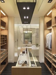 Master Bathroom Closet can walk through dressing area to get to master bath to make it a