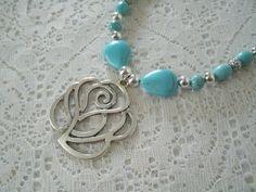 Desert Rose Necklace southwestern jewelry southwest jewelry turquoise jewelry native american jewelry theme western jewelry cowgirl boho by Sheekydoodle on Etsy https://www.etsy.com/listing/192609698/desert-rose-necklace-southwestern