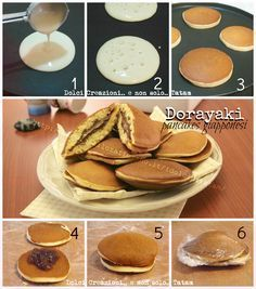 Dorayaki pancakes giapponesi alla Nutella |ricetta senza lievito e senza  burro