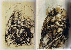 Il gatto nella storia dell'arte (Leonardo da Vinci)