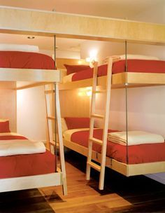 suspended bunk beds - Google Search