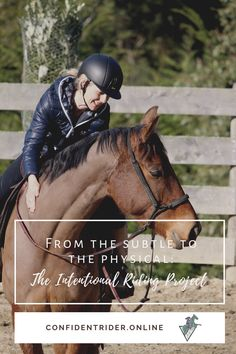 I've long been fascinated by the possibility of the connection and communication that's possible at the subtlest level with our horses.  >> Confident Rider - mindset, movement and nervous system awareness for equestrians Emotional Resilience, Training Exercises, Nervous System, Mistress, Equestrian, Confident, Riding Helmets, Mindset, Physics