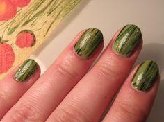 decoupage nail-art