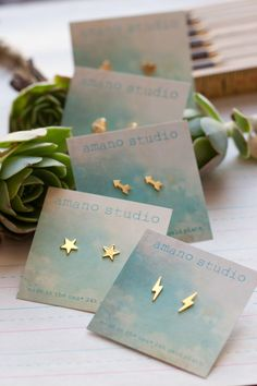 Tiny Gold Post Earrings by AmanoStudioSonoma on Etsy https://www.etsy.com/listing/165719014/tiny-gold-post-earrings