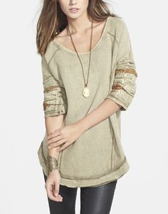 Free People You Dont Own Me Tunic Olive, Canada
