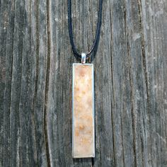 Dried Flower Flowers Memorial Long Bar Rectangle Pendant Necklace Polymer Clay Jewelry Ornaments Wedding Funeral Baby Pageant Vacation by DKSKeepsakeDesigns on Etsy