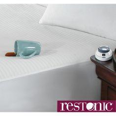 Restonic Waterproof Electric Warming Mattress Pad with Safe & Warm Technology