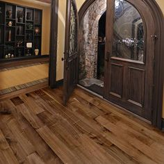 5 Inch Prefinished Select Rift and Quartered Walnut Flooring  aluminum oxide finish