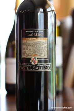 Castel Sallegg Lagrein Riserva 2009 - Wines From Alto Adige Wine #7. http://www.reversewinesnob.com/2012/09/castel-sallegg-lagrein-riserva-2009.html