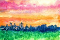 Dawn At the Ritz Carlton by Jerry Garcia