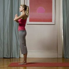Burn fat with these yoga exercises #womenshealth