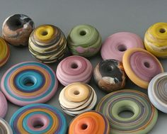The Perfect Tool Focal Bead Radial Cone Glass Lampwork