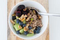 bokhvetegrot Oatmeal, Frisk, Kiwi, Breakfast, Food, Alternative, The Oatmeal, Morning Coffee, Rolled Oats