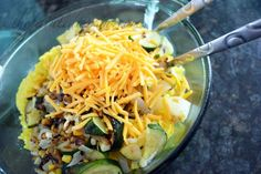 saffron rice with veggies thepaintedapron.com